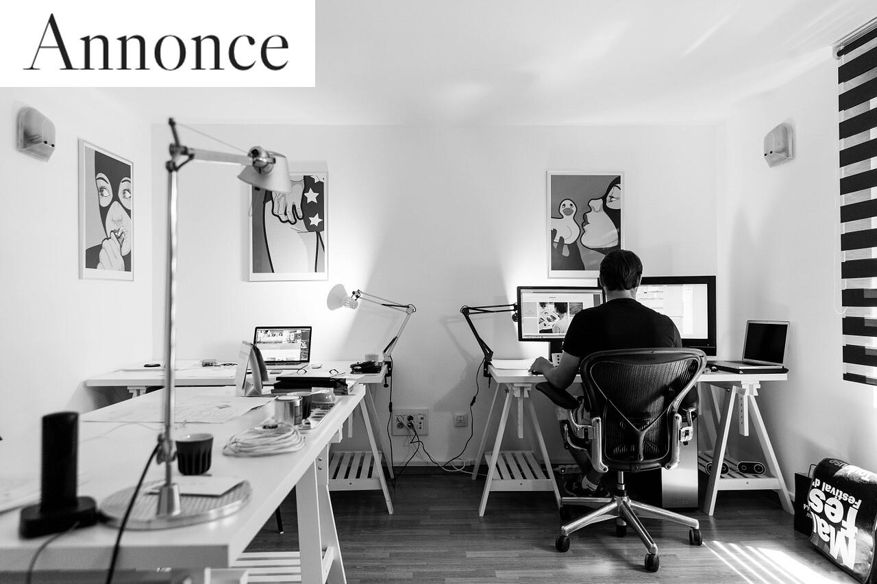 En ide til hvordan du starter din designerkarriere